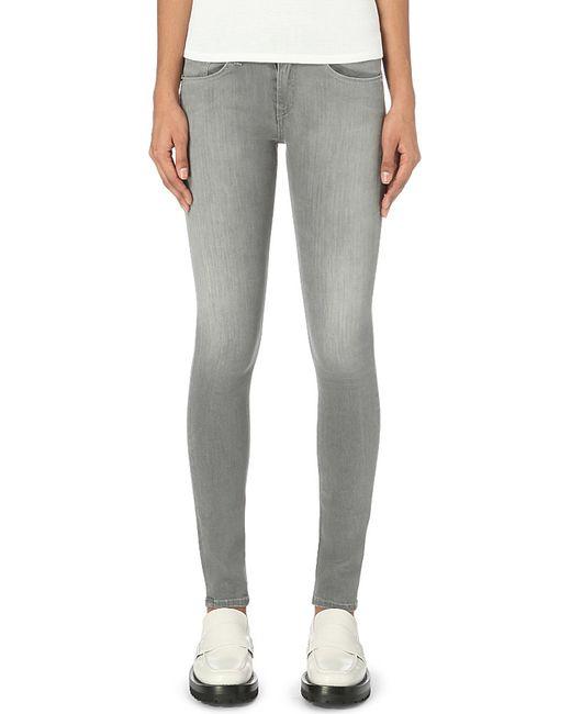 Rag & Bone | Gray Skinny Stretch Jeans | Lyst