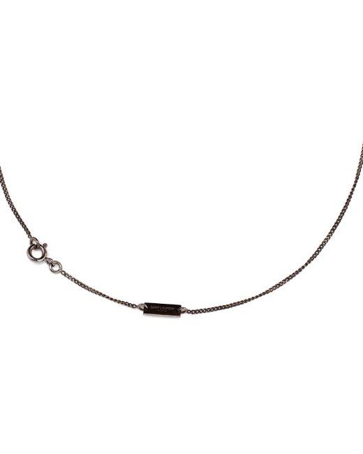 Saint Laurent | Metallic Trésor Love Necklace | Lyst