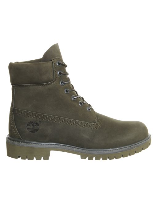 Amazing Timberland Classic 6 Premium Boots In Green For Men | Lyst