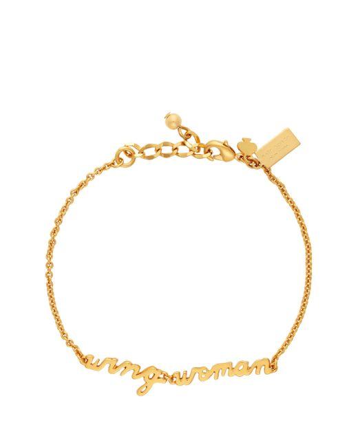 kate spade new york Metallic Say Yes Wing Woman Bracelet