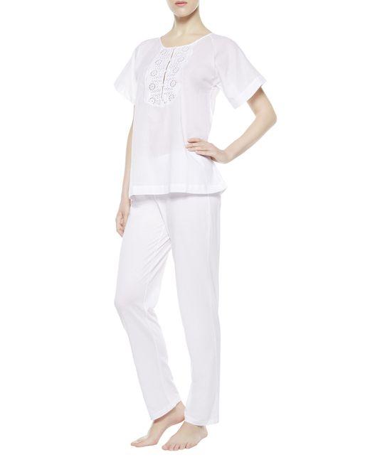 La Perla | White Pajama | Lyst