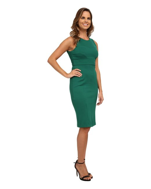 Kut From The Kloth | Green Milly Ponte Dress | Lyst