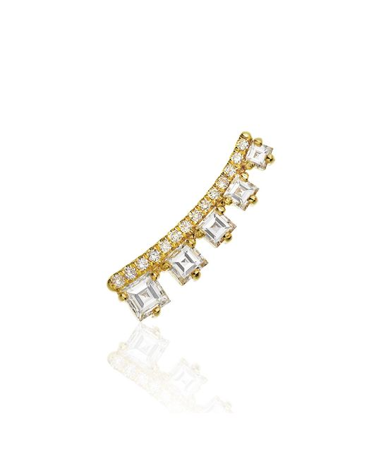 Jemma Wynne | Metallic Prive Diamond Ear Cuff | Lyst