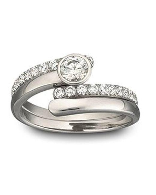 Swarovski | Metallic Radiance Ring | Lyst