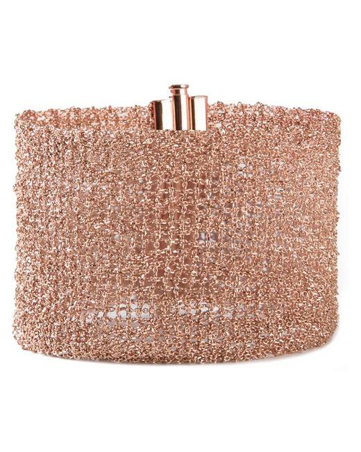 Christian Koban   Pink 'woven' Bracelet   Lyst