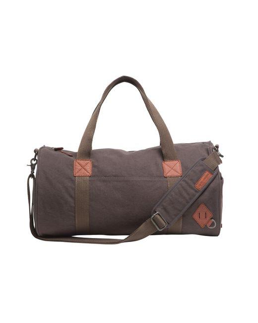 Alternative Apparel | Gray Basic Cotton Barrel Duffel Bag for Men | Lyst