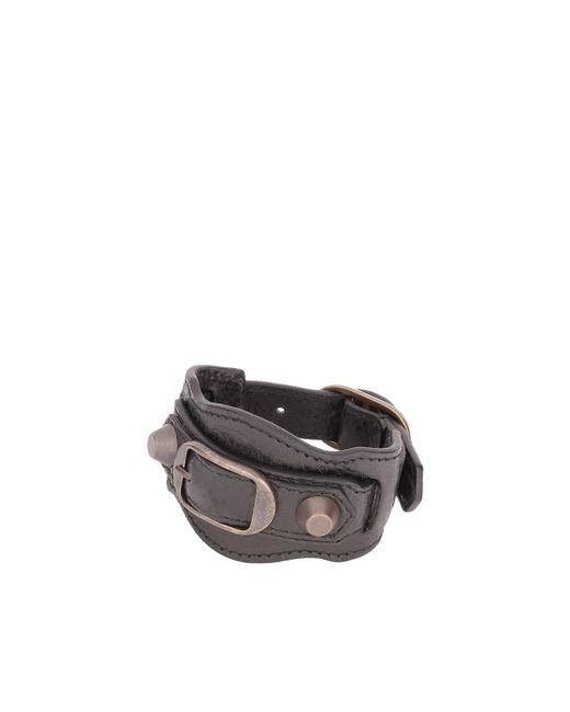 Balenciaga | Black Classic Bracelet | Lyst