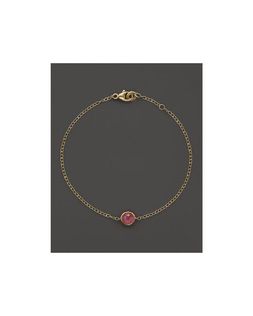 Ippolita | Metallic 18k Gold Mini-lollipop Bracelet In Pink Tourmaline | Lyst