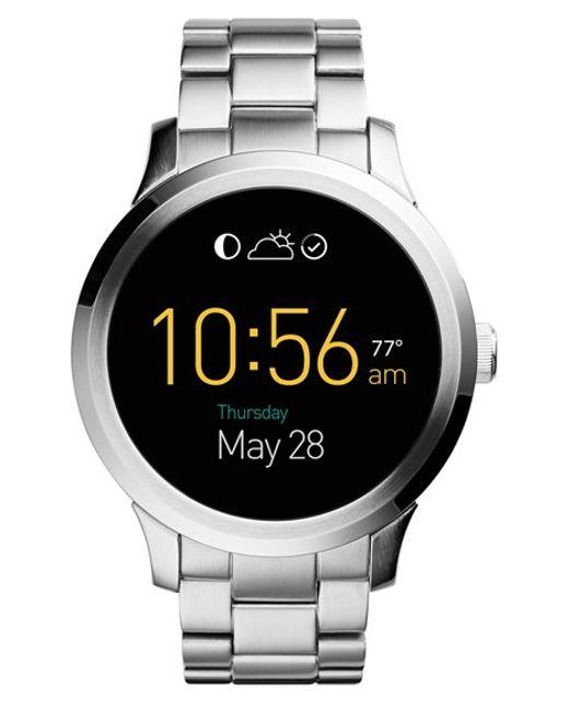 Fossil Q Founder Round Bracelet Smart Watch In