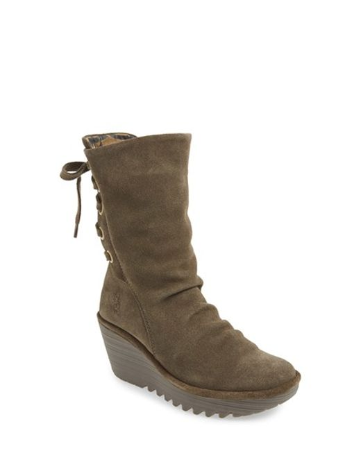 Fly London | Brown Yada Suede Boots | Lyst