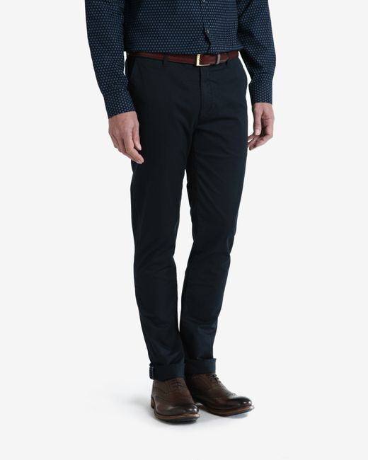 Ted Baker | Blue Slim Fit Chinos for Men | Lyst