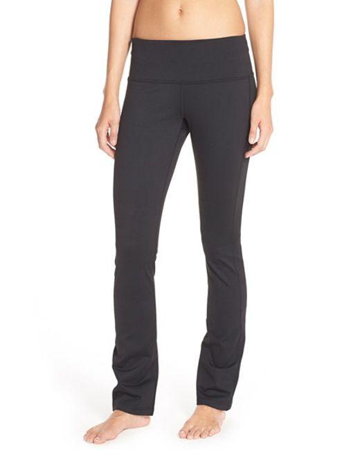 Zella Plank Yoga Pants In Black