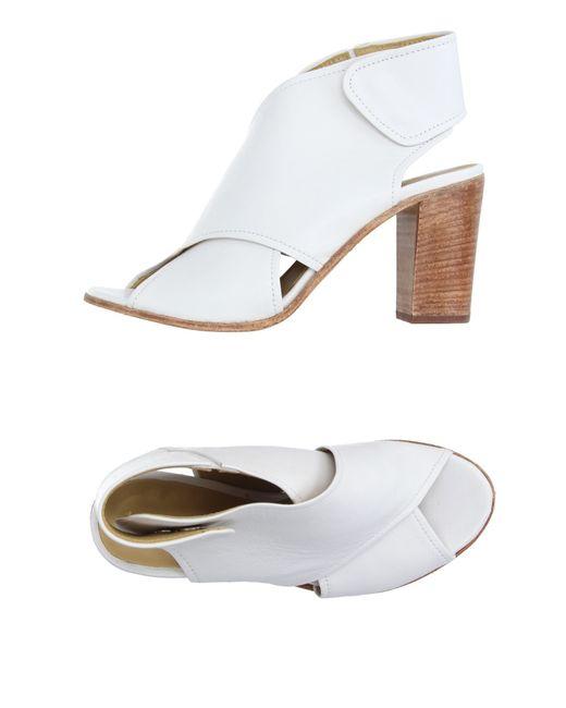 Lemarè | White Sandals | Lyst