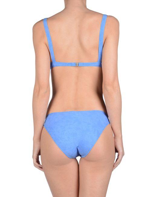 Colmar bikini in blue azure lyst for Blue piscine colmar