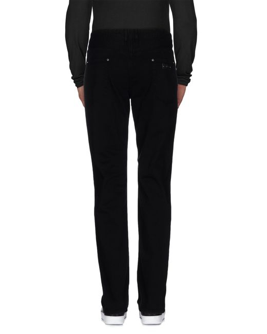 Just Cavalli | Black Denim Trousers for Men | Lyst