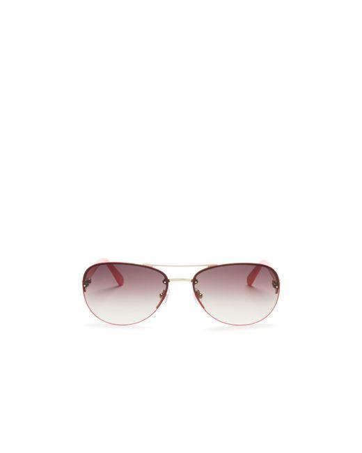Kate Spade | Metallic Beryl Rimless Sunglasses, 59mm | Lyst