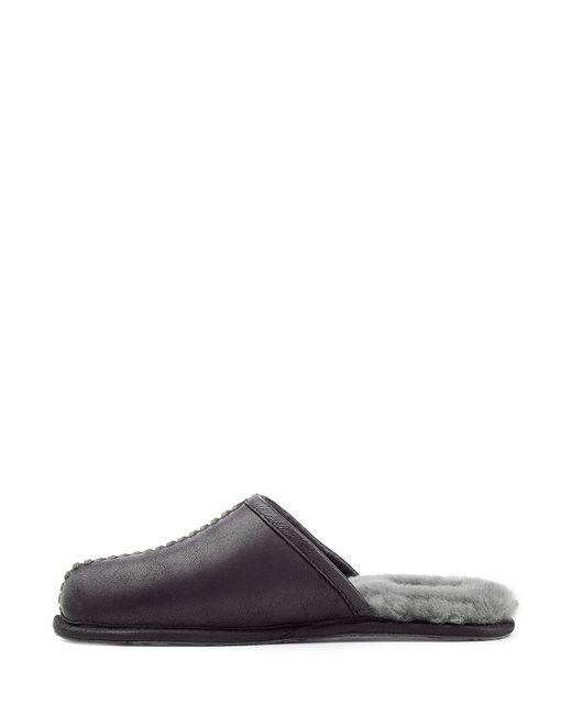 ugg scuff suede slippers