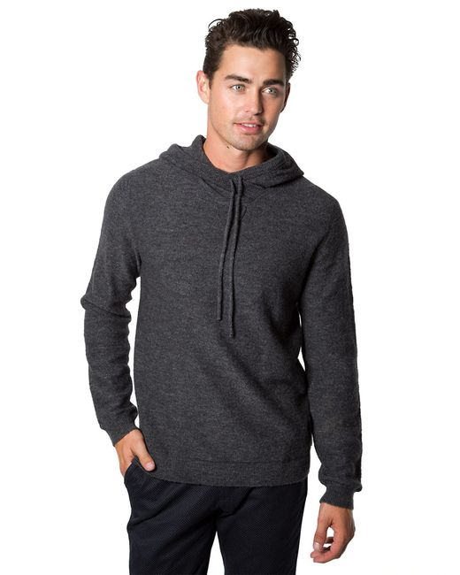 7 Diamonds | Gray Wool Blend Hoodie for Men | Lyst