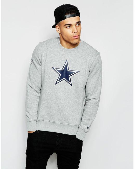 Ktz Dallas Cowboys Sweatshirt In Blue For Men