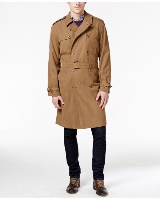 London Fog | Natural Plymouth Raincoat for Men | Lyst