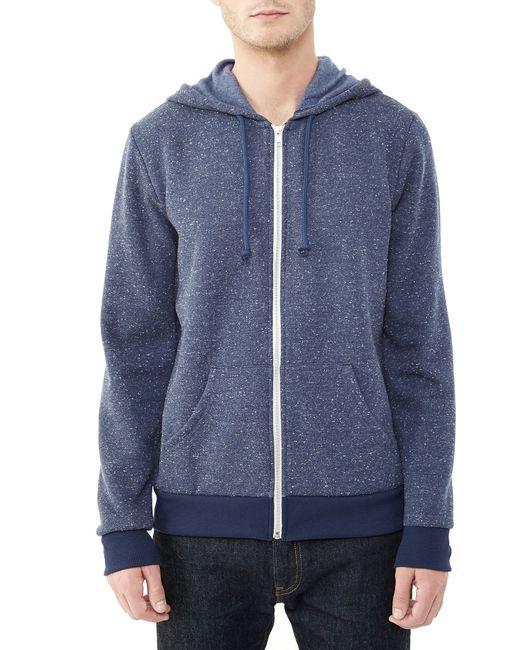 Alternative apparel embassy eco constellation fleece zip for Constellation fleece fabric