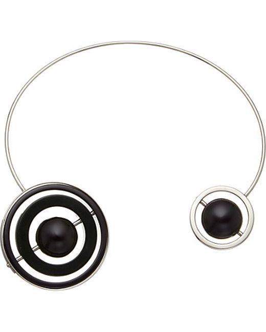 Marni | Metallic Silver-toned Pendant Necklace | Lyst