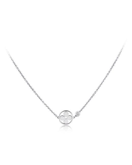 Louis Vuitton | Idylle Blossom Pendant, White Gold And Diamond | Lyst