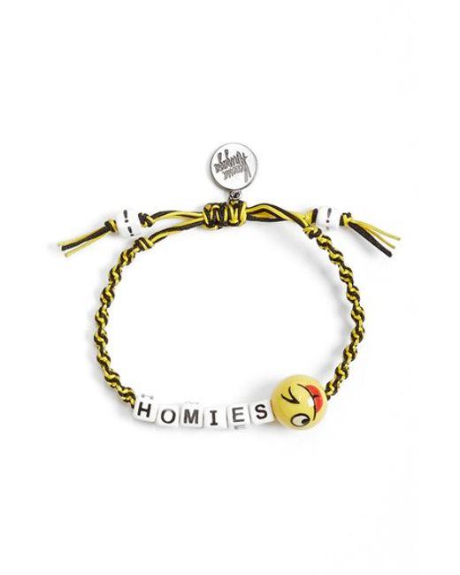 Venessa Arizaga | Black 'homies' Bracelet | Lyst