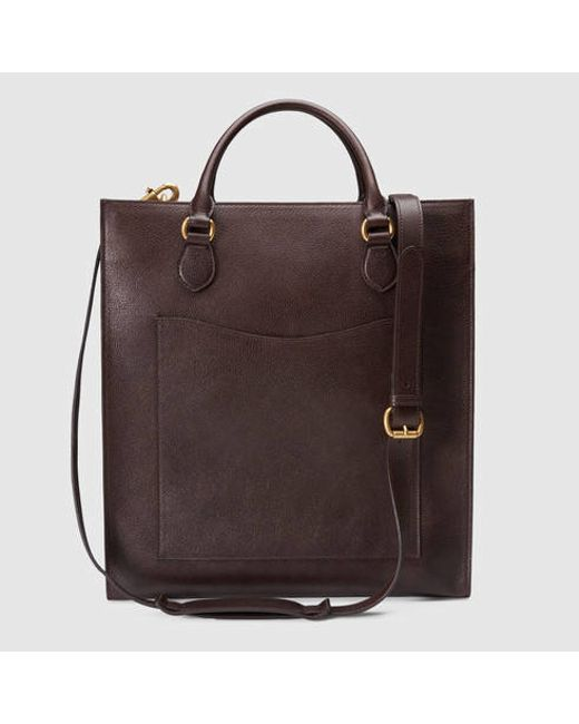 a636ba871e6c Gucci Men's Leather Tote | Stanford Center for Opportunity Policy in ...