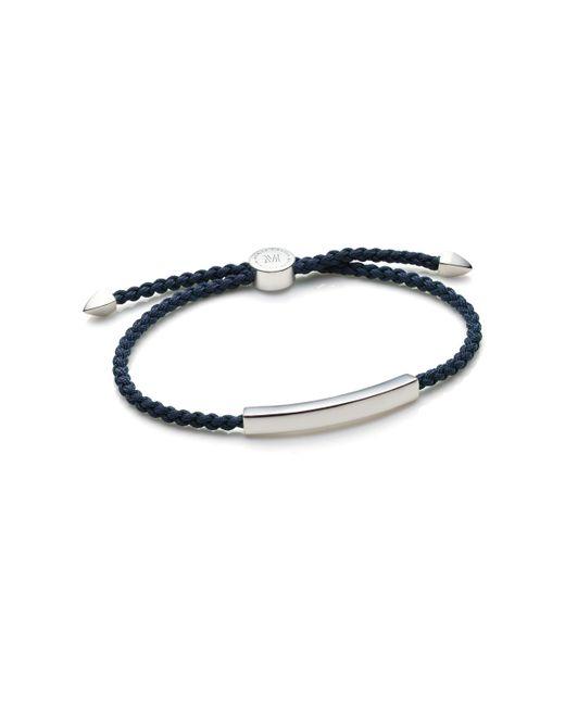Monica Vinader | Metallic Linear Men's Friendship Bracelet for Men | Lyst