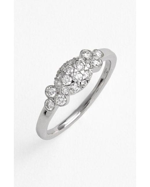 Kwiat | White 'moonrise' Diamond Ring | Lyst