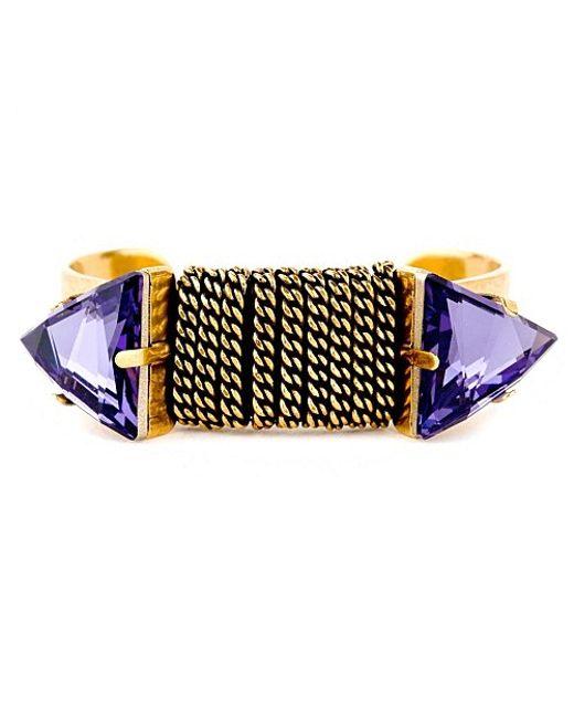 Nicole Romano | Purple Chi Cuff | Lyst