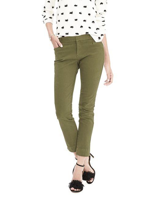 Banana republic New Sloan fit Garment dye Slim Ankle Pant