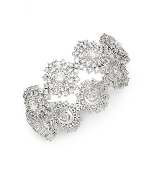 Adriana Orsini | Metallic Sweet Embrace Cluster Stone Bracelet | Lyst