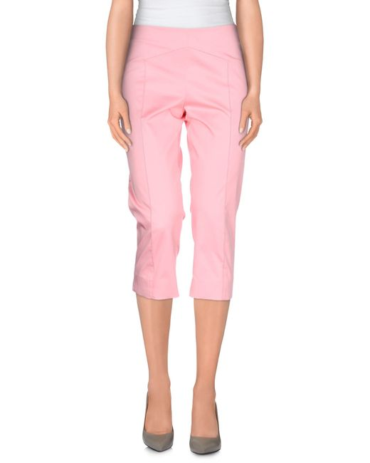 Boutique Moschino | Pink 3/4-length Short | Lyst