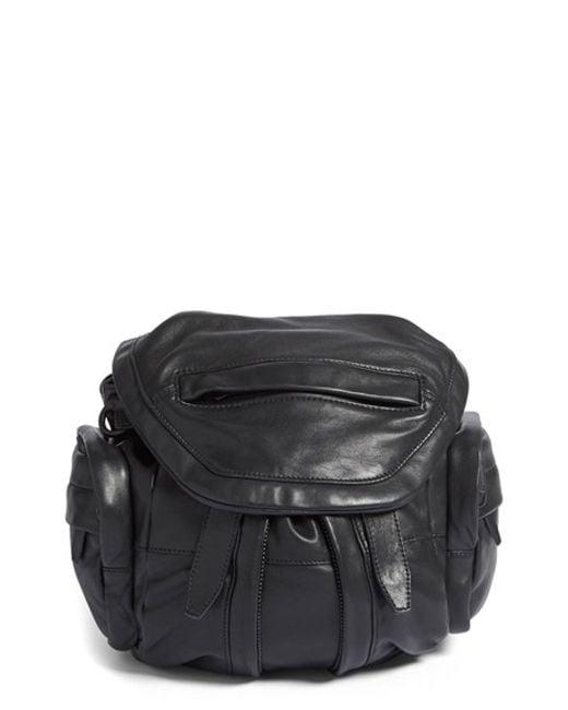 Alexander Wang | White 'mini Marti' Leather Backpack | Lyst