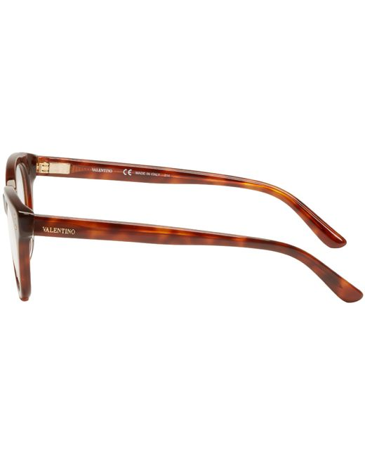 Valentino Eyeglass Frames 2015 : Valentino Brown Rockstud Optical Glasses in Brown for Men ...