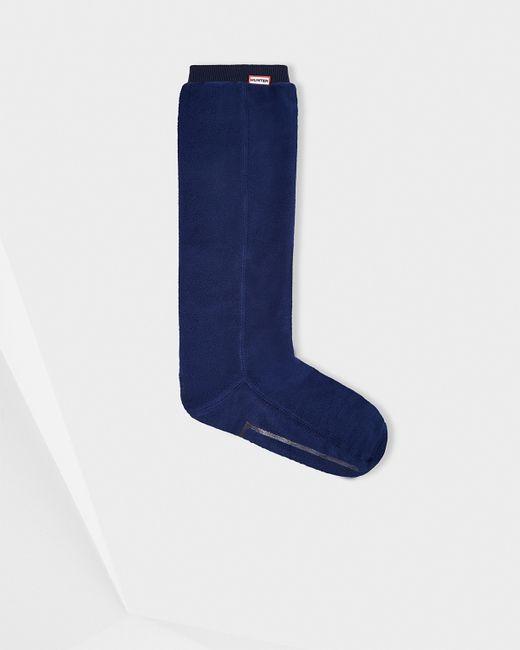 Hunter   Blue Unisex Original Fitted Boot Socks - Long for Men   Lyst