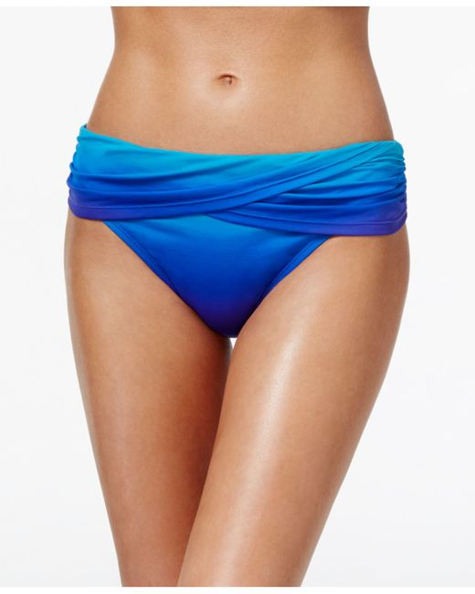 Solid, but always sexy, this Solid Mid Waist Foldover Bikini Bottom brings perfection to a mix-and-match piece. The mid-rise fit and foldover waistband ensures superior fit and support so you never have to worry about being uncomfortable.5/5(2).