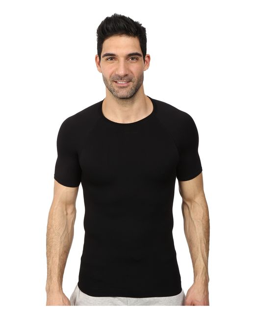 Spanx | Black Targeted Core Crew for Men | Lyst