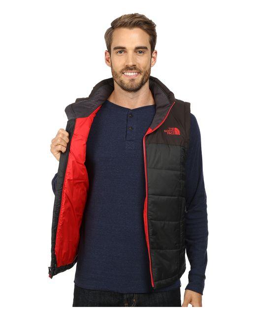 The North Face   Black Roamer Vest for Men   Lyst