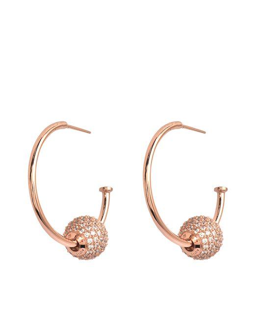 Thomas Sabo   Pink Creolen Earrings   Lyst