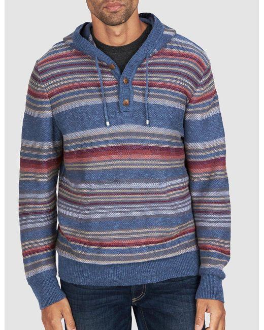 Faherty Brand - Blue Baja Sweater for Men - Lyst