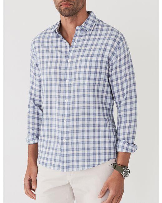 Faherty Brand - Blue Ventura Shirt for Men - Lyst