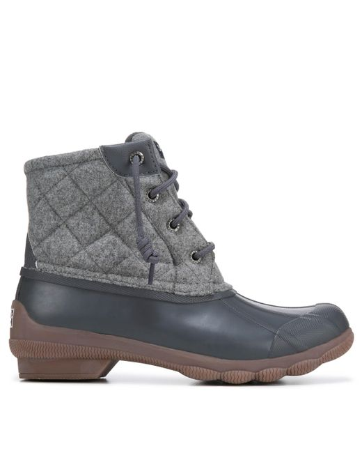 Sperry Top-Sider Syren Waterproof Duck Boots In Gray - Lyst-9103
