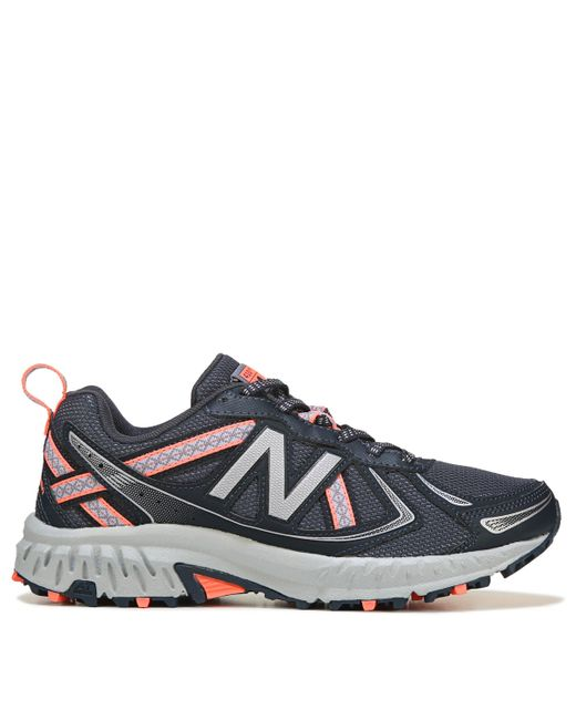 Women's Blue 410 V5 Wide Trail Running Shoes