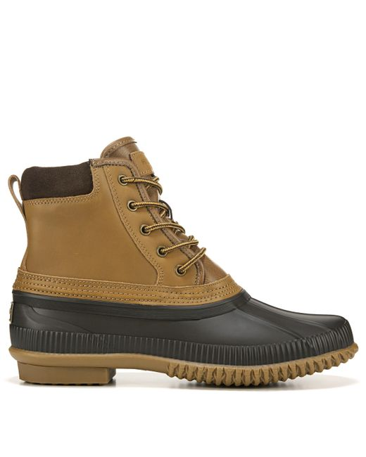 Tommy Hilfiger Brown Casey Duck Boots for men
