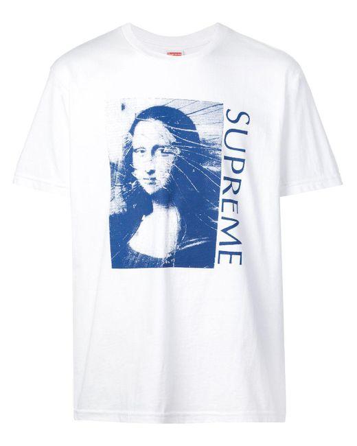 メンズ Supreme Mona Lisa Tシャツ Multicolor
