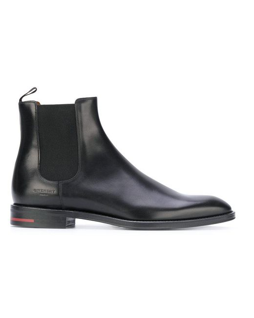 Givenchy - Black Classic Chelsea Boots for Men - Lyst