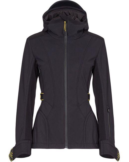 Куртка С Капюшоном И Логотипом Fendi, цвет: Black